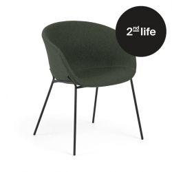 2tes Leben | Stuhl Vic | Dunkelgrün