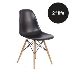 2tes Leben | Stuhl Manda | Schwarz