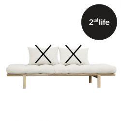 2tes Leben | Tagesbett Pace | Rahmen Natur + Naturmatratze