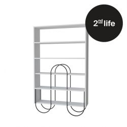 2tes Leben | Bücherregal Norfolk | Weiß