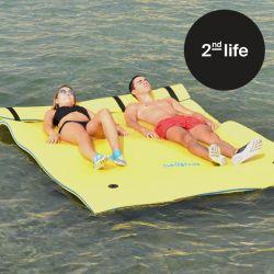 2tes Leben | Schwimmendes Wasserfloß M 2-3 Sitze