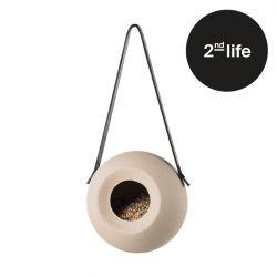 2tes Leben | Vogelhaus Lisa | Staubiges Beige