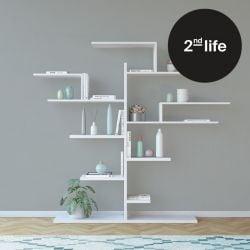 2ème Vie | Bookcase Tree | Blanc
