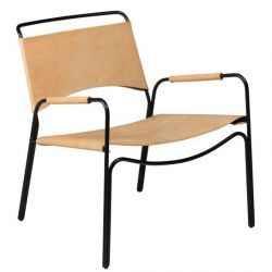 Lounge Chair Paz | Camel