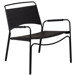 Lounge Chair Paz | Black