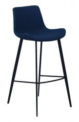 Bar Stool Hype Fabric | Blue