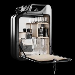Minibar | Schwarz