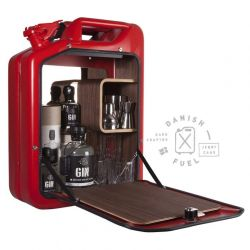Bar Cabinet | Red