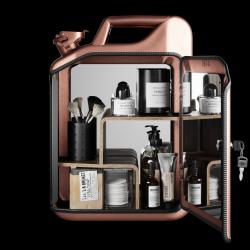Badezimmerschrank | Kupfer