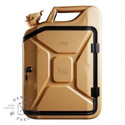 Bathroom Cabinet | Gold + Oak