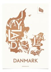 Danemark Poster | Kupfer