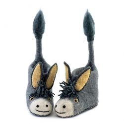 Children's Slippers Darci Donkey | Grey