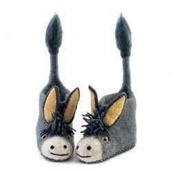Kinderpantoffeln Darci Esel | Grau