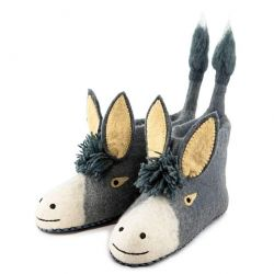 Adult Slippers Darci Donkey | Grey