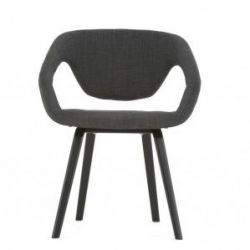 Flexback Chair | Black Dark Grey