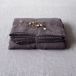 Fitted Bed Sheet | Dark Grey