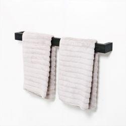 Handtuchhalter Slimline 72 cm | Dunkles Holz