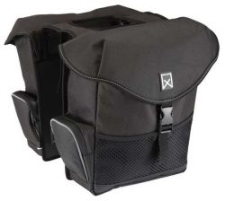 Double Bag for Bike XL | Black