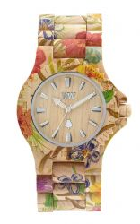 WeWood Watch DATE FLOWER Beige