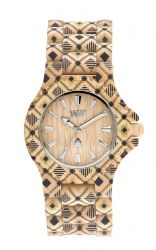 WeWood Watch DATE PAT Beige