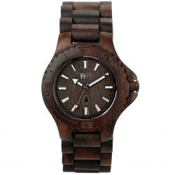 WeWood Watch DATE Chocolate