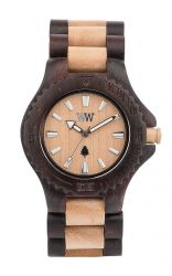 WeWood Watch DATE Chocolate/Beige