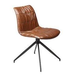 Dazz stoel | Bruin