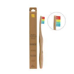Zahnbürste Bambus | Regenbogen