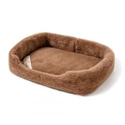 Wool Pet Bed Merino | Chocolate