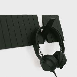 Wandkapstok Switchboard | Zwart