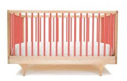 Wohnwagen-Babybett - Rot