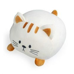 Cushion Kitty | White Polyester