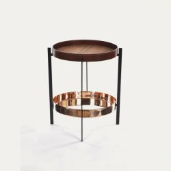 Deck Table | Cognac & Copper
