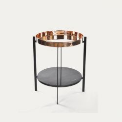 Side Table Deck | Copper & Marquino