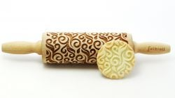 Engraved Rolling Pin | Deco