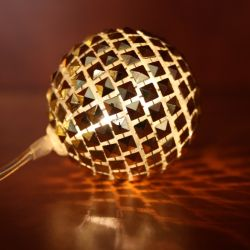 Deco Golden Ball LED String BLS-10