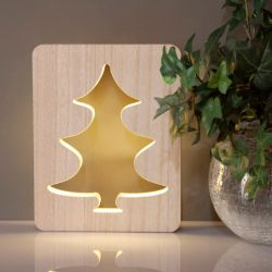 Deco Wooden LED Tree Light