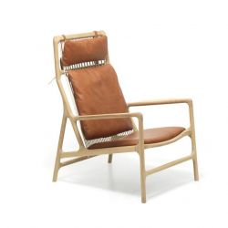 Lounge Chair Dedo Leder