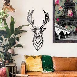 Wall Deco Deer
