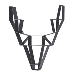 Shelf Metal Deer Small | Black