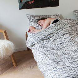 Bettbezug Twirre | Grau