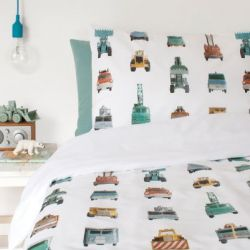 Single Bed Duvet Cover | Work Vehicles