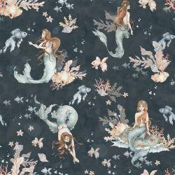 Tapete   Mermaids in Sea Depths