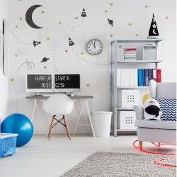 Wall Stickers / Set of 2 | Space