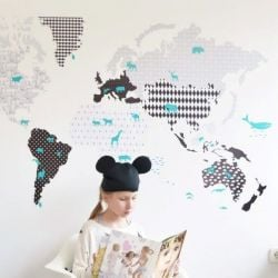 Wall Sticker | Map 3