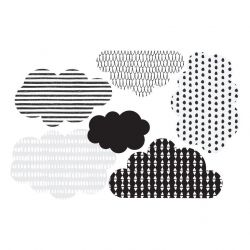 Wall Sticker Scandinavian Clouds | Small