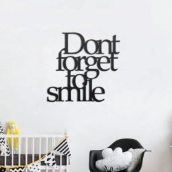 Wall Sign | Don't Forget To Smile