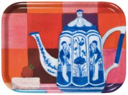 Tray Delft Blue Teapot