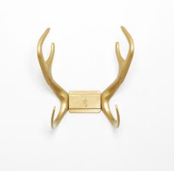 Reindeer Wallmount | Gold