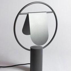 Standing Lamp Rotating Lampshade| Dark Grey